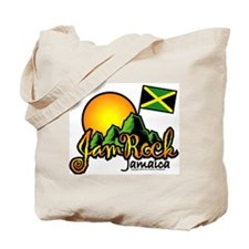 Welcome to JamRock, Jamaica Tote Bag