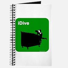 I dive dumpster diver Journal
