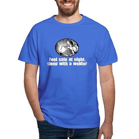 Feel Safe Sleep with a Welder Dark T-Shirt