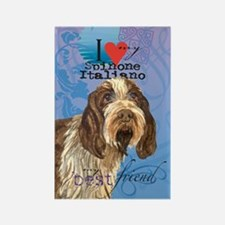Spinone Italiano Rectangle Magnet