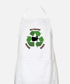 3 Rs of dumpster diving BBQ Apron