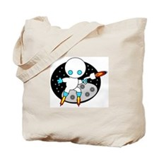 ROBOT WARRIOR Tote Bag