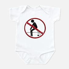 No Pooping Infant Bodysuit