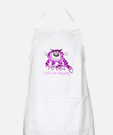 Let's Be Happy Cheshire Cat BBQ Apron
