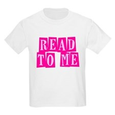 Pink Read to Me T-Shirt