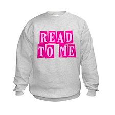 Pink Read to Me Sweatshirt