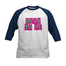 Pink & Green Read to Me Tee