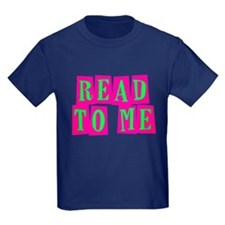 Pink & Green Read to Me T