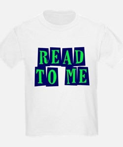 Navy & Green Read to Me T-Shirt