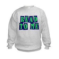 Navy & Green Read to Me Sweatshirt