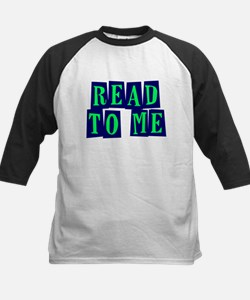 Navy & Green Read to Me Tee