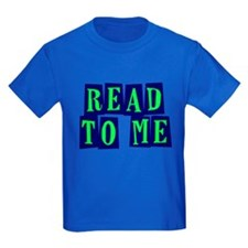 Navy & Green Read to Me T