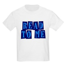Navy & Blue Read to Me T-Shirt