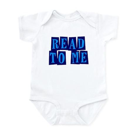 Navy & Blue Read to Me Infant Bodysuit
