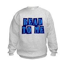 Navy & Blue Read to Me Sweatshirt