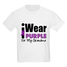 Purple Ribbon Grandma T-Shirt