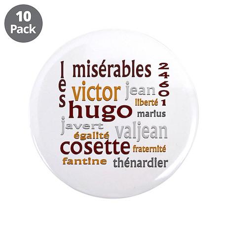 """Les Miserables 3.5"""" Button (10 pack)"""