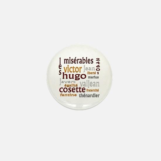 Les Miserables Mini Button (10 pack)