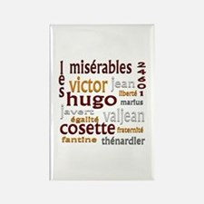 Les Miserables Rectangle Magnet