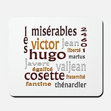 Les Miserables Mousepad