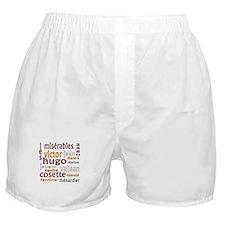 Les Miserables Boxer Shorts