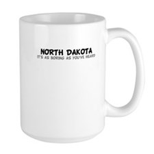 North Dakota-As Boring Mug
