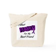 I Wear Purple For My Best Friend 8 Tote Bag