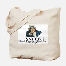 Please Vote Tote Bag