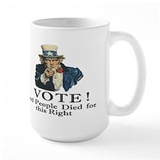 Please Vote Mug