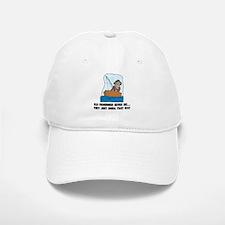 Old Fishermen Never Die Baseball Baseball Cap