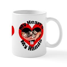 Heart In My Hands Opossum Mug