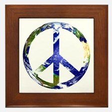Peace on Earth Framed Tile