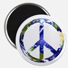 """Peace on Earth 2.25"""" Magnet (10 pack)"""