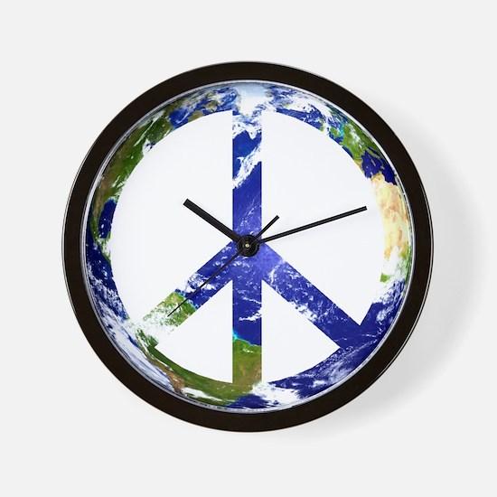Peace on Earth Wall Clock