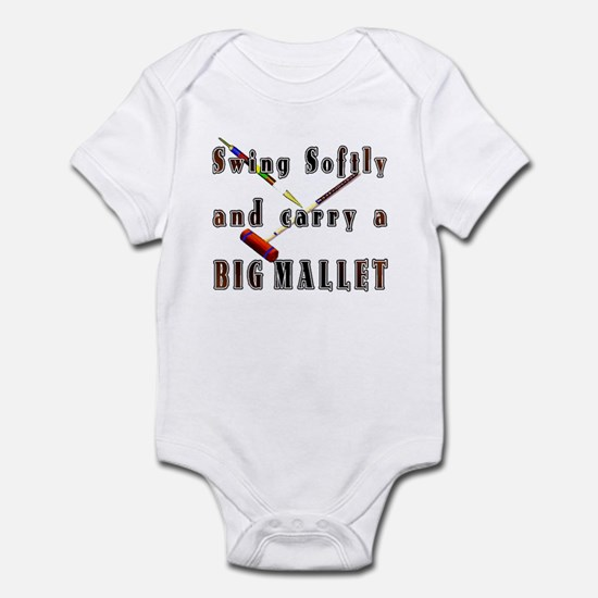 Swing Softly and Carry a Big Infant Bodysuit