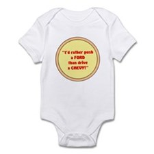 PUSH A FORD Infant Bodysuit