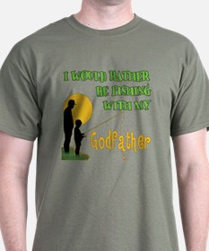 Fishing With Godfather T-Shirt