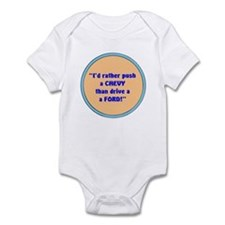 PUSH A CHEVY Infant Bodysuit