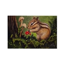 Little Chipmunk Refrigerator Magnet