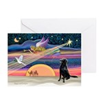 Xmas Star/FC Retriever Greeting Cards (Pk of 20)