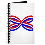 RED, WHITE, AND BLUE RIBBON Journal
