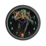 Red eyed tree frog Wall Clocks