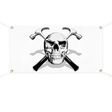 Carpenter Skull Banner