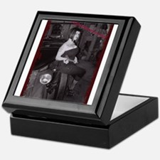 Cool Black and white sexy Keepsake Box