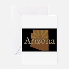 Arizona Sun Greeting Card