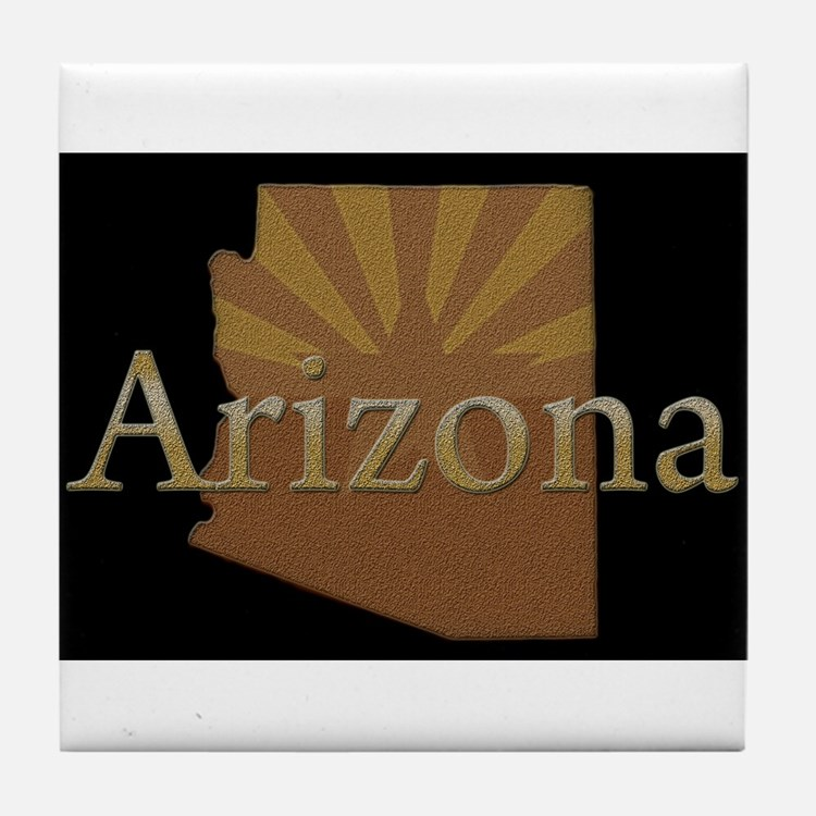 Arizona Sun Tile Coaster