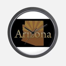 Arizona Sun Wall Clock