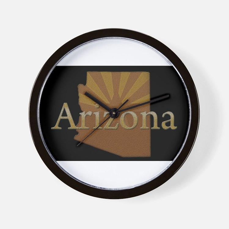 Arizona Sun Wall Clock