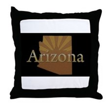 Arizona Sun Throw Pillow