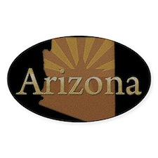 Arizona Sun Oval Sticker (10 pk)